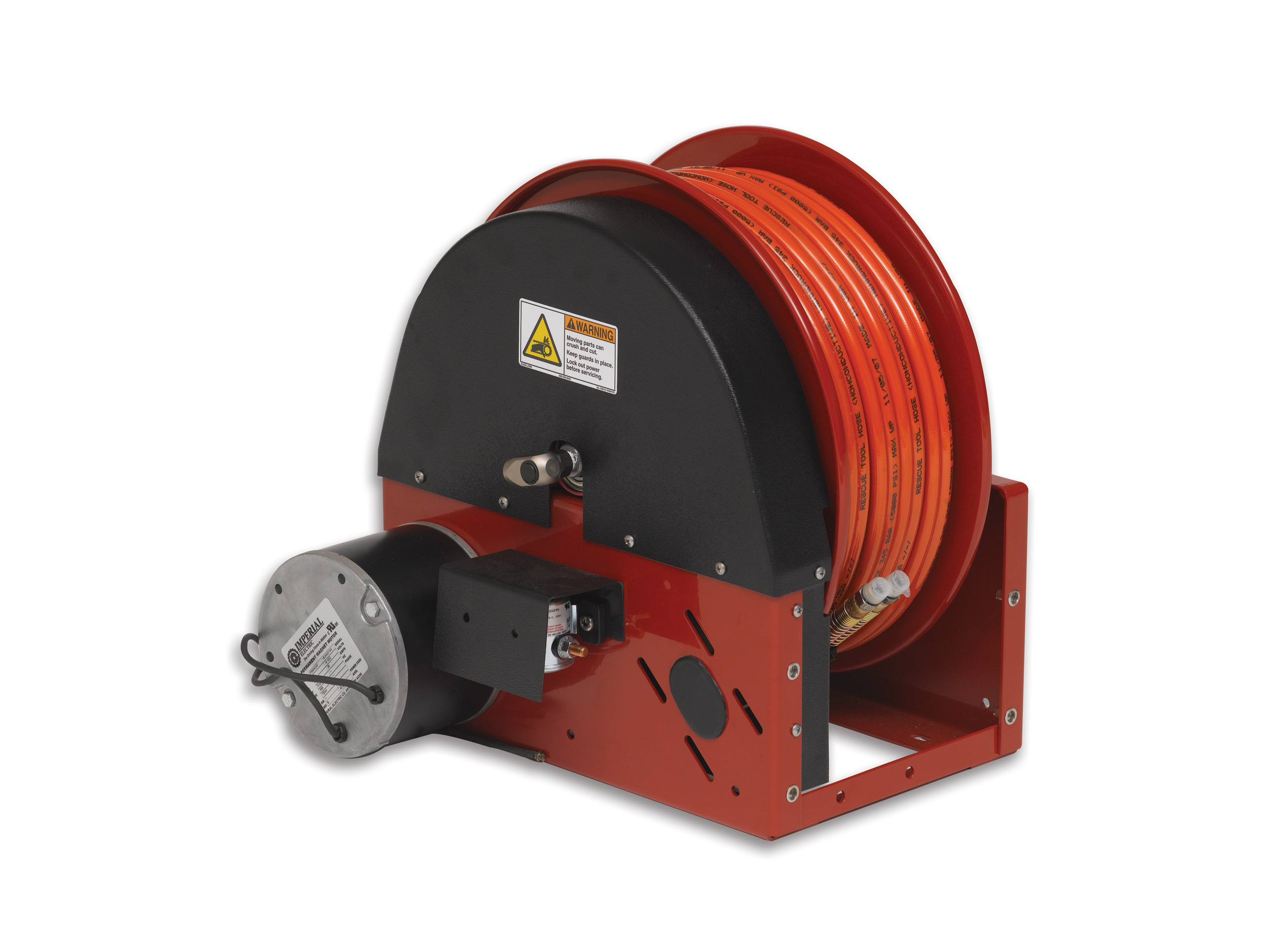 Electric Rewind Hydraulic Reel
