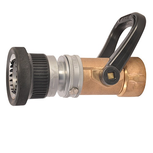 ½ industrial turbojet brass fire hose nozzle